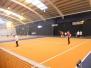 Year 3/4 learning new tennis skills