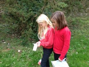 Orienteering at Castle Howard.